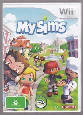 Nintendo Wii Game - My Sims