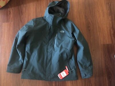 1aba0f2342a9 The North Face Men s Carto Triclimate Snow Ski Jacket Green XL NEW Msrp   240 NWT
