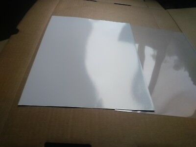 8.5in x 11in sheets 20 Pack Glossy polypropylene//3M 8518 laminate Combo
