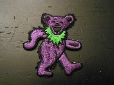 Grateful Dead - Dancing Bear - Embroidered Iron On Patch