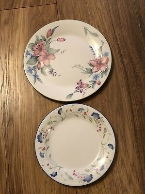 Royal Doulton Expressions Carmel & Expression Windermere Plates Bundle