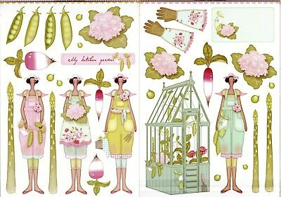 Tilda Papercraft Pack – Tilda's Kitchen Garden A4 New