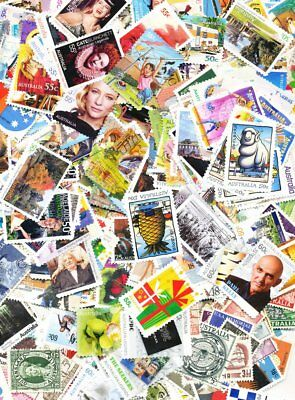 Australia 500 All Different Used Stamps