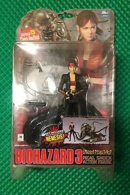 Resident Evil Moby Dick Biohazard Claire Redfield Real Shock Action Figure #5