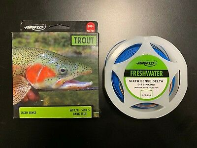 Airflo Sixth Sense Sweep Sinking Trout Fly Fishing Lines