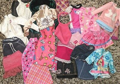 Mixed lot of Barbie clothing #3
