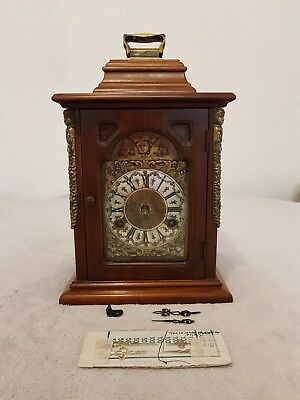 Franz Hermle Bracket Clock  With Floating Movement  Spare Or Repair