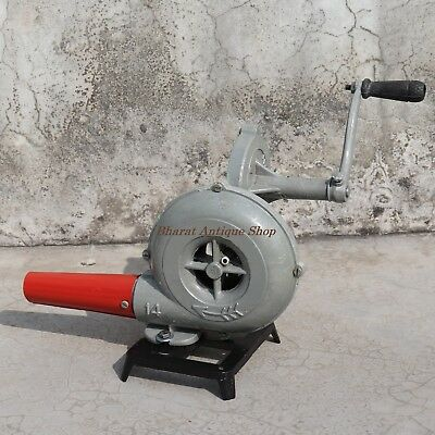 Forge Furnace Vintage Style With Hand Blower Pedal Type Handle Blacksmith