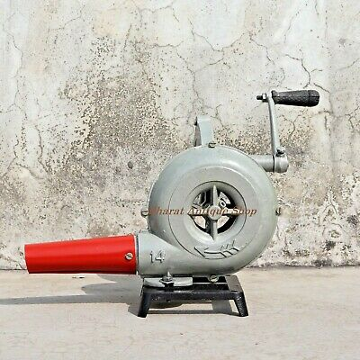 Forge Furnace Blacksmith Vintage Style With Hand Blower Pedal Type Handle