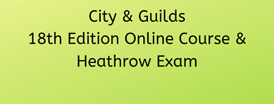 Essex 18th Edition course and examination - 22nd March