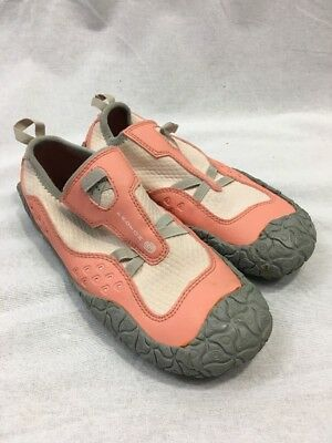 a09b27c7a Teva Proton Water Shoes Womens 5 Sandals Neoprene Paddle Sport Pink Peach  Gray