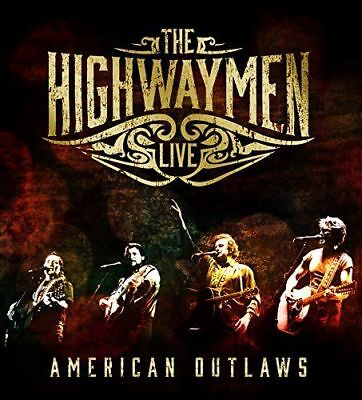 The Highwaymen - American Outlaws: The Highwaymen Live (4 Disc, +Blu-ray) CD NEW