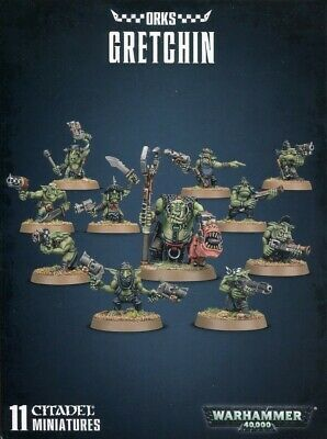 Orks Gretchin Games Workshop Brand New 99120103053