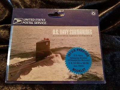 Booklet Still in Packaging! USA #  Submarines us navy 2000 2 pages