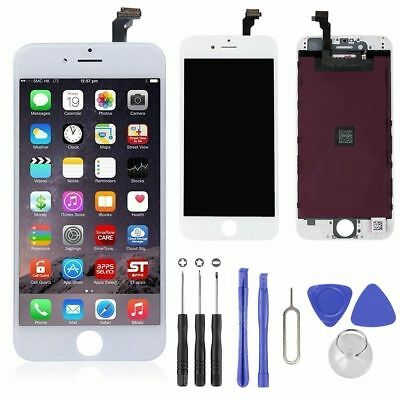 For iPhone 6 4.7″ White LCD Touch Display Assembly Digitizer Screen Replacement