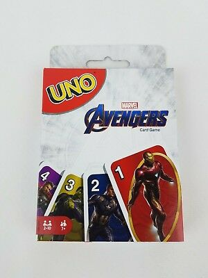 MARVEL Avengers UNO Card Game New