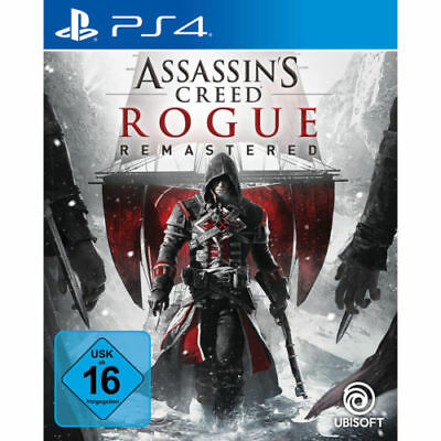 Assassin's Creed Rogue - Remastered (Sony PlayStation 4, 2018), neu und OVP