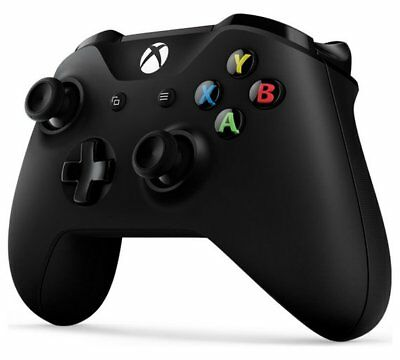 Official Microsoft Xbox One Wireless Controller Black with 3.5m Jack