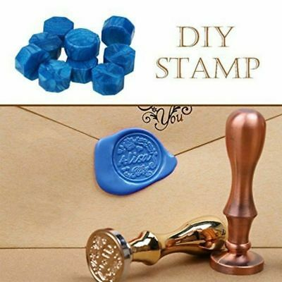 Personalized Hot Wax Seal Retro Invitation Stamps Pill Beads Spoon 850+ shape