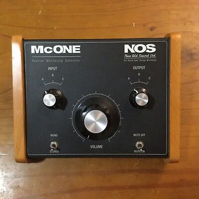NOS New Old Sound Limited McOne Passive Monitor Controller