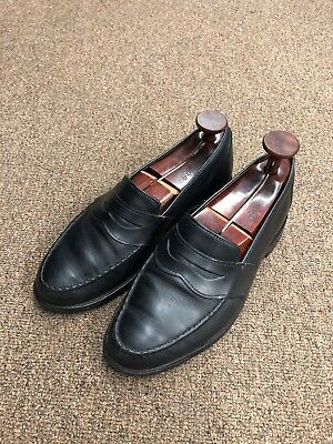 6aa1e3b75c8 Allen Edmonds Randolph Penny Loafers Size 8.5 EEE Black Leather USA Z-29