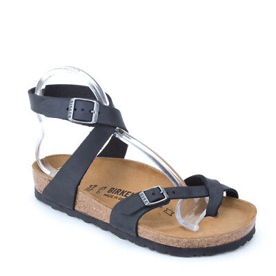 c5ea2a31bc8 USED WELL WORN Birkenstock Womens Size 5 Navy Blue + 1 Brown Sandals ...