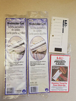 Lot LoRan Project Cards Two Sizes NIP