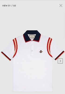 610f5a4d7 MENS GUCCI COTTON Polo With Bee - $159.00 | PicClick