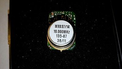 10 MHz OCXO  Ultra Low Power High Stability MXO37/14 Miniature TOP ++++++