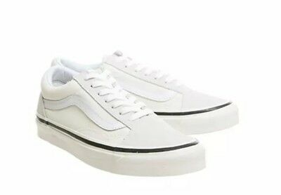 df6b475149c VANS OLD SKOOL Dx Womens Gold Textile Casual Trainers Lace-up ...