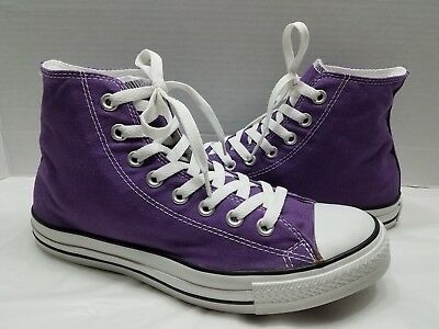 3932c81a36a5c4 Converse Chuck Taylor All Star Purple High Top Lace Sneakers - Women s Size  9.5