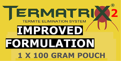 1 X Termatrix2 IMPROVED Termite Bait. Professional grade. Made in Germany.