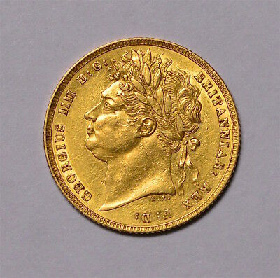 1821 Sovereign George Iv ®-1252