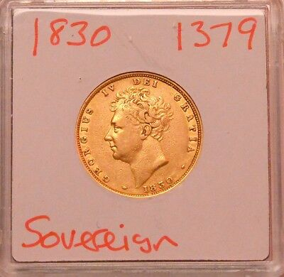 1830 Sovereign George IV  ®-1379