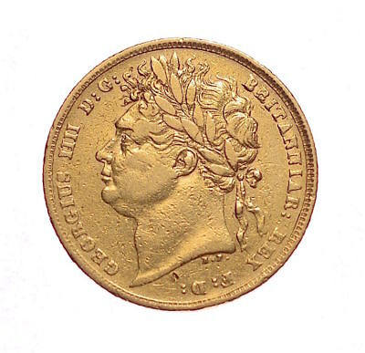 1822 Sovereign George Iv  ®-1143