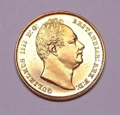 Very Rare 1832 sovereign First bust ®-1322