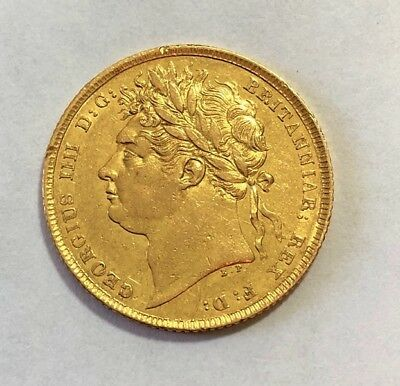 1824 Sovereign George Iv ®-1251