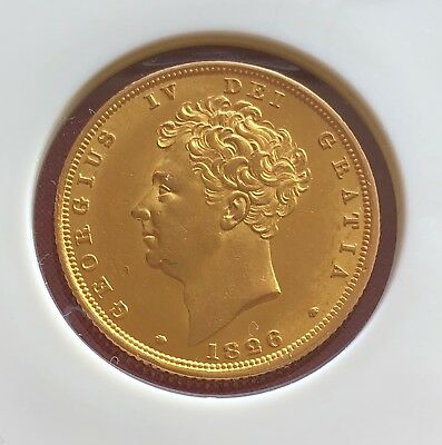 1826 Sovereign George IV ®-J27