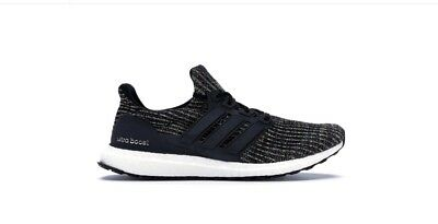 c2f4bc49ac6 Adidas Ultra Boost 4.0 Black Multi-Color NYC Bodegas Men s Running Shoes  CM8110