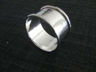 Antique Hallmarked Sterling Silver Serviette Ring, Collectable