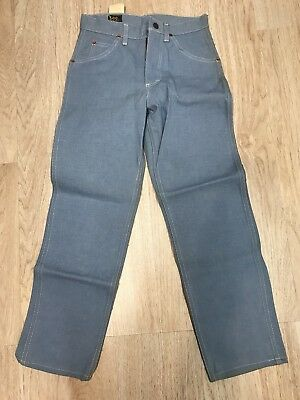 Vintage Boy's Lee Riders Union Sanforized Denim Jeans Sz 10 Western Talon NEW