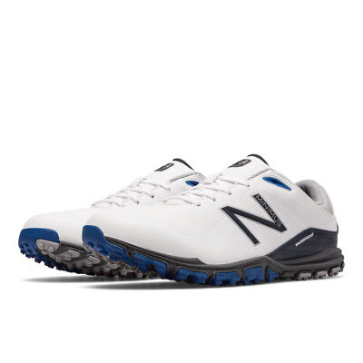 NEW BALANCE NBG1701WK White Black Golf Shoes Mens Waterproof New ... 351f7e5844f