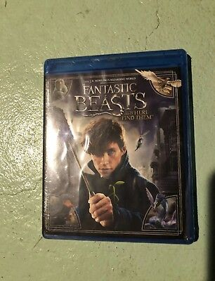 Fantastic Beasts And Where To Find Them Blu Ray Harry Potter
