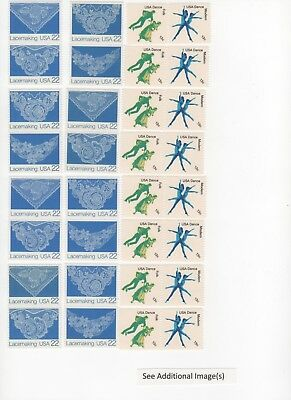 35 Cent Postage Stamp Combos Enough to Mail 24 Postcards - Face Value $8.40