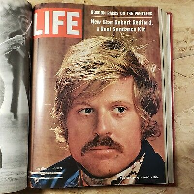 Life Magazine January February March 1970 Bound Book Robert Redford Israel's War