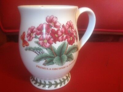 Portmeirion Botanic Garden Primula Obconica Butterfly April 9oz New Tankard