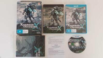 Xenoblade Chronicles X Limited Edition Wii U Used SAME DAY FREE SHIPPING