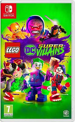 LEGO DC Super-Villains (Nintendo Switch) New Sealed PAL