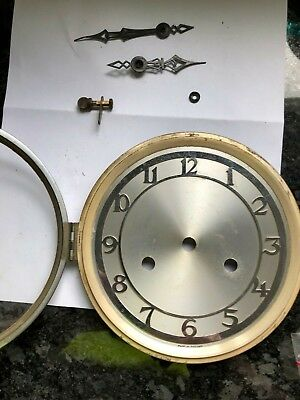 mantel clock face door hands etc