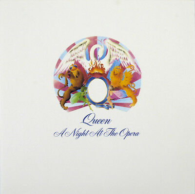 Queen Night At The Opera US remastered reissue 180gm vinyl LP g/f sleeve
